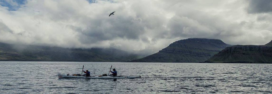 Olly Hicks presents 'Kayaking from Greenland to Scotland'