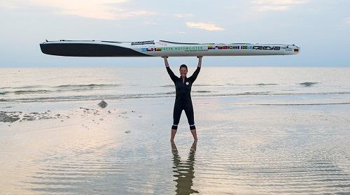 """Freya Hoffmeister """"THINK BIGGER! – Survived"""" The First Circumnavigation of South America"""